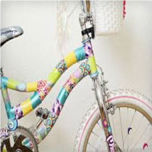 Duct Tape Bike Makeover