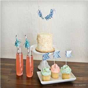 Duct Tape Cake Toppers