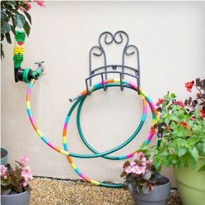 Duct Tape Decorated Garden Hose