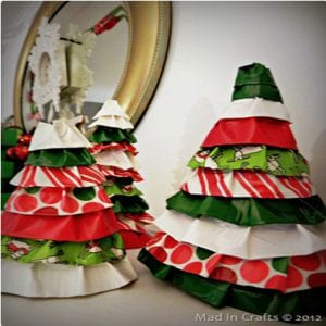 Duct Tape Ruffle Trees