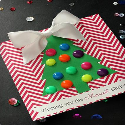 30 beautiful homemade christmas cards miss wish earring cards solutioingenieria Choice Image