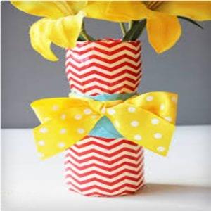 Easy Duct Tape Vase
