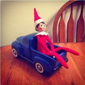 Elf In A Truck