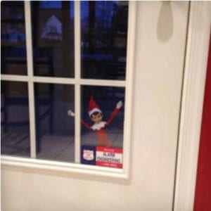Elf Locked Out