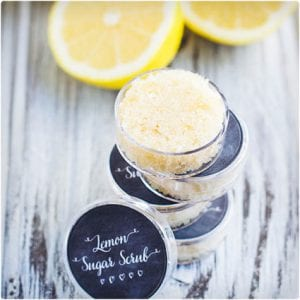 Exfoliating Lemon Lip Scrub