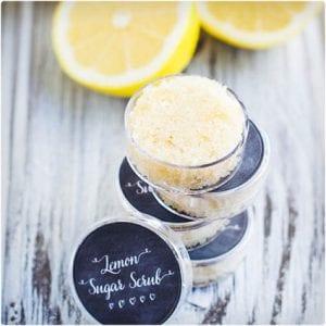 Exfoliating Lemon Lip Scrub