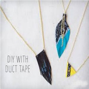 Fashion Duct Tape Necklaces