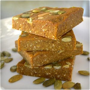 Gingerbread Energy Bars