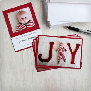 Handmade Photo Holiday Card