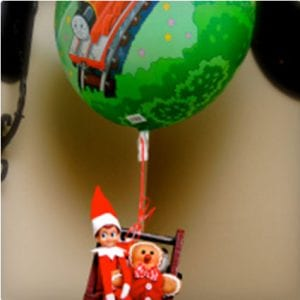 Hot Air Balloon Elf