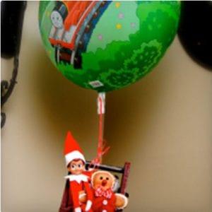 Hot Air Balloon Elf