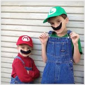 Last Minute Mario and Luigi Costumes