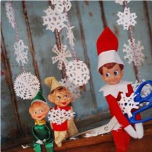Making Snowflakes Elf