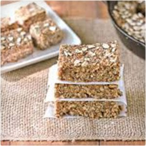 Maple, Oat, and Pecan Power Bars