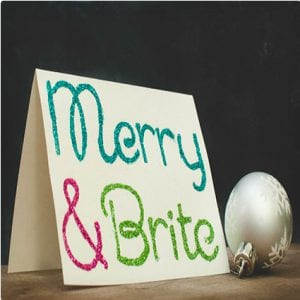 Merry and Brite Cards