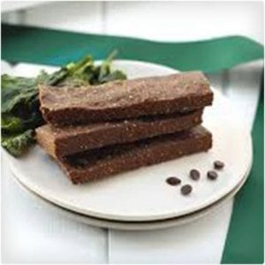No Bake Mint Chocolate Protein Bars