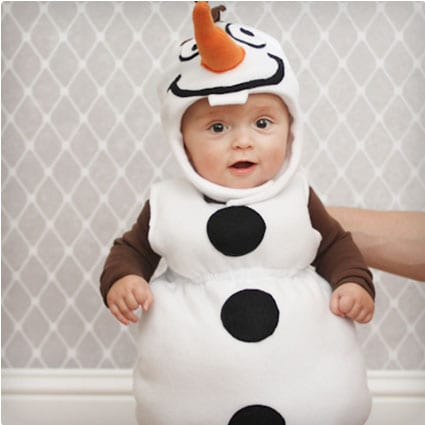 Olaf Costume (Infant)  sc 1 st  Miss Wish & 38 Genius DIY Halloween Costumes | Miss Wish