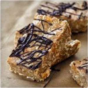 Peanut Butter White Chocolate Protein Bars