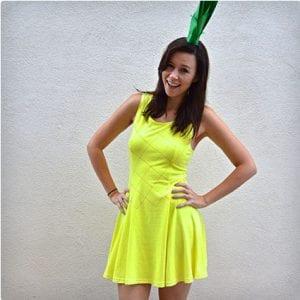 Pineapple Halloween Costume