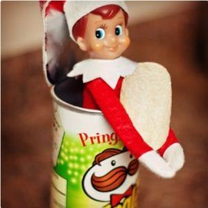 Pringles Elf