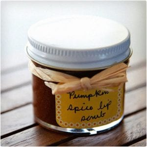 Pumpkin Lip Scrub