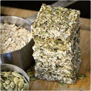 Raw Pumpkin Hemp Seed Protein Bars