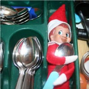 Silverware Elf