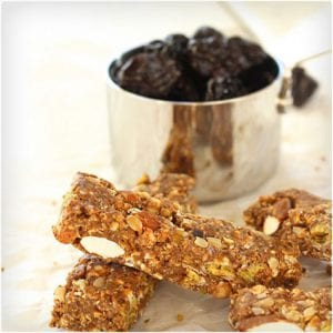 Sweet and Savory No Bake Energy Bars