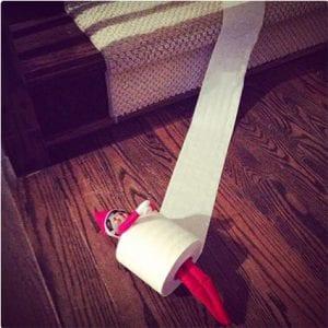 Toilet Roll Elf