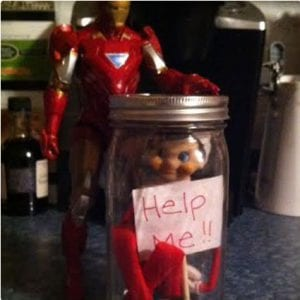 Trapped Elf