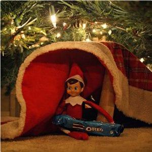 Tree Skirt Elf