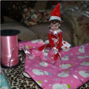 Wrapped Up Elf