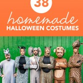 Make your own Halloween costume this year! If you don't know what to make, take a look at these 38 genius DIY Halloween costume ideas.