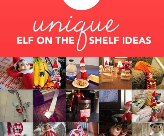 This is the holy grail for unique elf on the shelf ideas!
