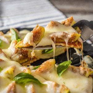 5 Ingredient Fig Pizza