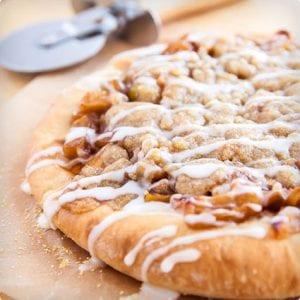 Apple Pie Pizza