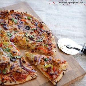 Chicken Tandoori Pizza