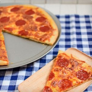 Crispy Thin Crust Pizza