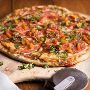 Jalapeno and Chorizo Pizza