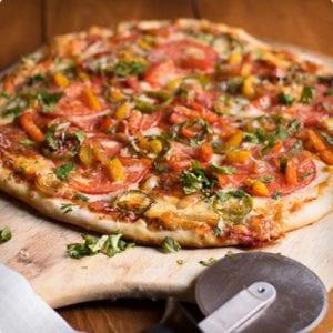 Jalapeno and Chorizo Pizza