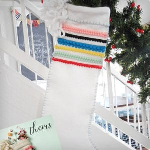 Anthropologie Inspired Stockings