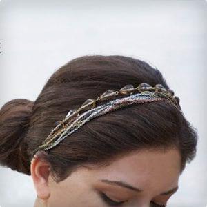 Convertible Necklace to Headband Tutorial