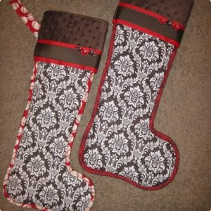 DIY Copycat Stockings
