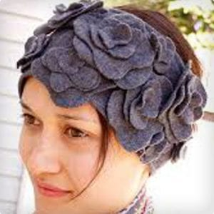 DIY Felt Ear Warmer Headband