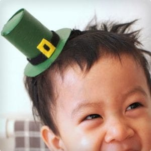 DIY Leprechaun Hat Headband