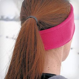 Easy DIY Ear Warmer Headband