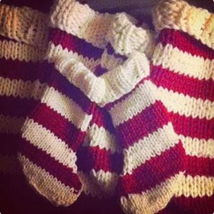 Easy Knit Stockings