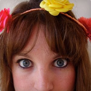 Easy Wire and Flower Clip Headband