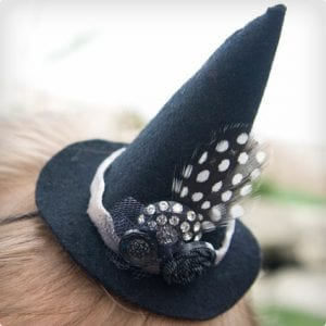 Easy Witch's Hat Costume Headband