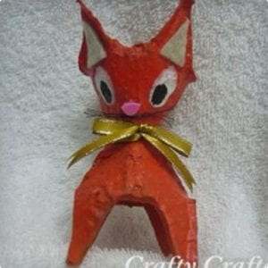 Egg Carton Kitty Cats and Other Animals